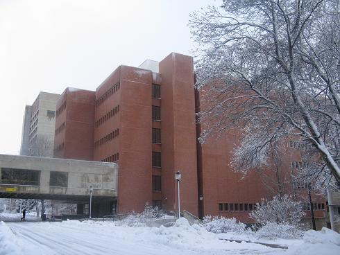 Image of Owen Science Librarian Interior and Exterior