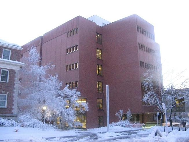 Image of Owen Science Library Interior and Exterior